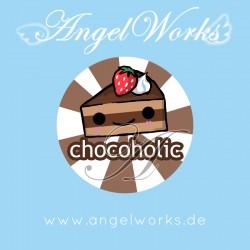 Cute Chocolate Cake Chocoholic