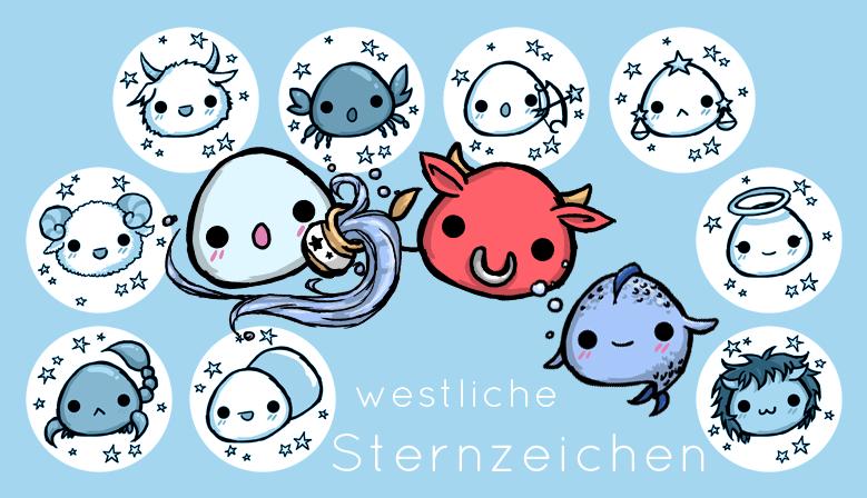 Westliche Sternzeichen